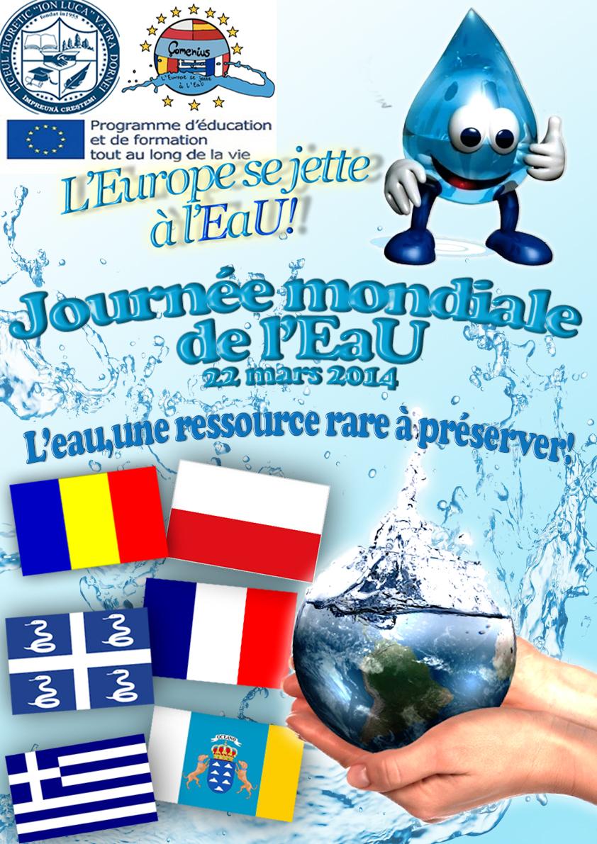 Affiche réalisée en Roumanie